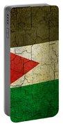 Grunge Jordan Flag Portable Battery Charger