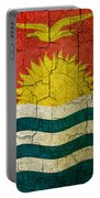 Grunge Kiribati Flag Portable Battery Charger