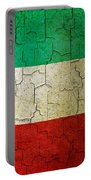 Grunge Kuwait Flag Portable Battery Charger