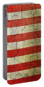 Grunge Liberia Flag Portable Battery Charger