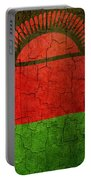 Grunge Malawi Flag Portable Battery Charger