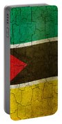 Grunge Mozambique Flag Portable Battery Charger