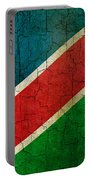 Grunge Namibia Flag Portable Battery Charger