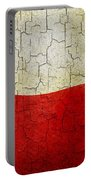 Grunge Poland Flag Portable Battery Charger