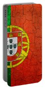 Grunge Portugal Flag Portable Battery Charger