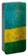 Grunge Rwanda Flag Portable Battery Charger