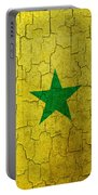 Grunge Senegal Flag Portable Battery Charger