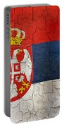 Grunge Serbia Flag Portable Battery Charger