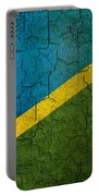 Grunge Solomon Islands Flag Portable Battery Charger