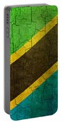 Grunge Tanzania Flag Portable Battery Charger