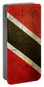 Grunge Trinidad And Tobago Flag Portable Battery Charger