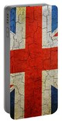 Grunge Union Flag Portable Battery Charger