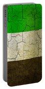 Grunge United Arab Emirates Flag Portable Battery Charger