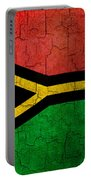 Grunge Vanuatu Flag Portable Battery Charger