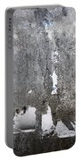 Grungy Concrete Wall Portable Battery Charger