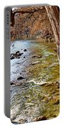 Guadalupe River View Portable Battery Charger