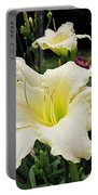 Guardian Angel Daylilies Portable Battery Charger