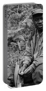 Guardian Of The Mountain Gorillas Portable Battery Charger