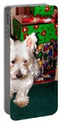 Guarding Christmas Portable Battery Charger