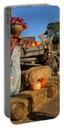 Guarding The Pumpkin Patch Portable Battery Charger