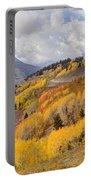 Guardsman Pass Aspen - Big Cottonwood Canyon - Utah Portable Battery Charger