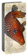 Guinea Fowl Puffer Fish Portable Battery Charger