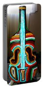 Guitar Vase Portable Battery Charger
