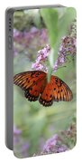 Gulf Fritillary Agraulis Vanillae-featured In Nature Photography-wildlife-newbies-comf Art Groups  Portable Battery Charger