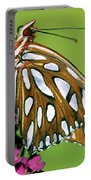 Gulf Fritillary Butterfly Agraulis Portable Battery Charger