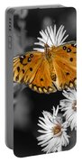 Gulf Fritillary Butterfly Portable Battery Charger