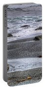 Gull And Black Sand Beach - California Portable Battery Charger