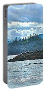 Gull Island Rookeries In Kachemak Bay-alaska Portable Battery Charger