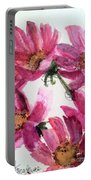 Gull Lake's Flowers Portable Battery Charger
