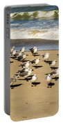Gulls At The Beach Portable Battery Charger