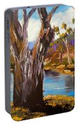 Gum Trees Of The Snowy River Portable Battery Charger