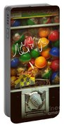 Series - Gumball Silver Bars With Graffiti - Iconic New York City Portable Battery Charger