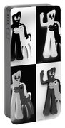 Gumby And Pokey B F F In Quad Shades 1 Portable Battery Charger