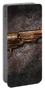 Gun - Colt Model 1851 - 36 Caliber Revolver Portable Battery Charger by Mike Savad
