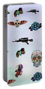 Guns And Roses  Portable Battery Charger