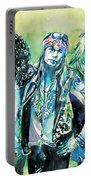 Guns N' Roses - Watercolor Portrait Portable Battery Charger