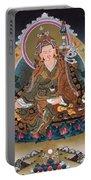 Guru Rinpoche Thangka Art Canvas Portable Battery Charger