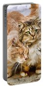 Gutter Kitties Five Portable Battery Charger