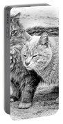 Gutter Kitties Four Portable Battery Charger