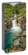 Gwynant Waterfall Portable Battery Charger