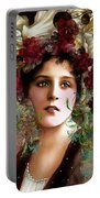 Gypsy Girl Of Autumn Vintage Portable Battery Charger