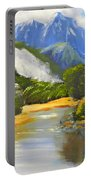 Haast River New Zealand Portable Battery Charger