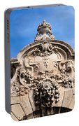 Habsburg Gate Details In Budapest Portable Battery Charger