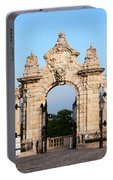Habsburg Gate In Budapest Portable Battery Charger