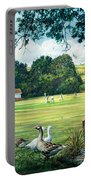 Hadlow Cricket Club Portable Battery Charger
