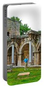 Hadrian's Gate In Antalya-turkey Portable Battery Charger